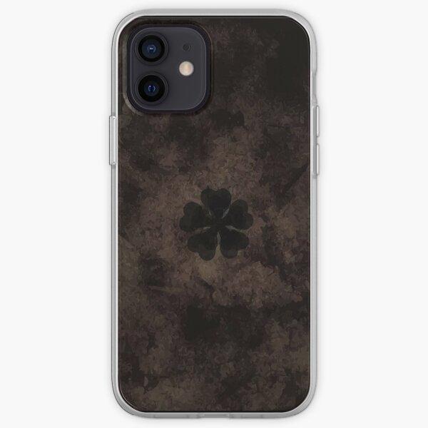 Five-Leaf Clover Book Asta iPhone Soft Case