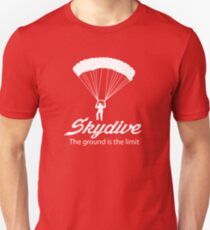 8b4149b5 Skydive. The ground's the limit t-shirt Slim Fit T-Shirt