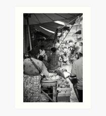 Mae Sot Morning Market Art Print
