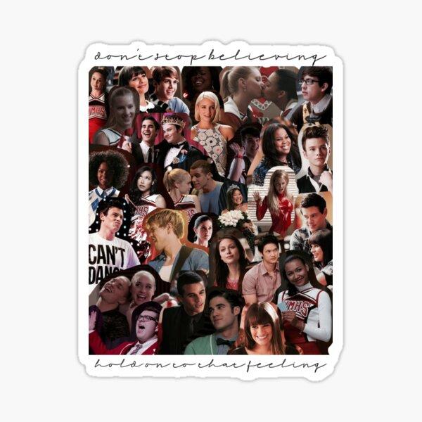 Glee Collage Sticker