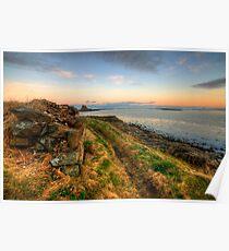 Lindisfarne Castle Views Poster