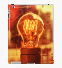 incandescent light bulb iPad Case/Skin