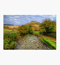 Wasdale Head in Oils Photographic Print