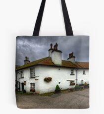 Brown Cow Cottages Tote Bag