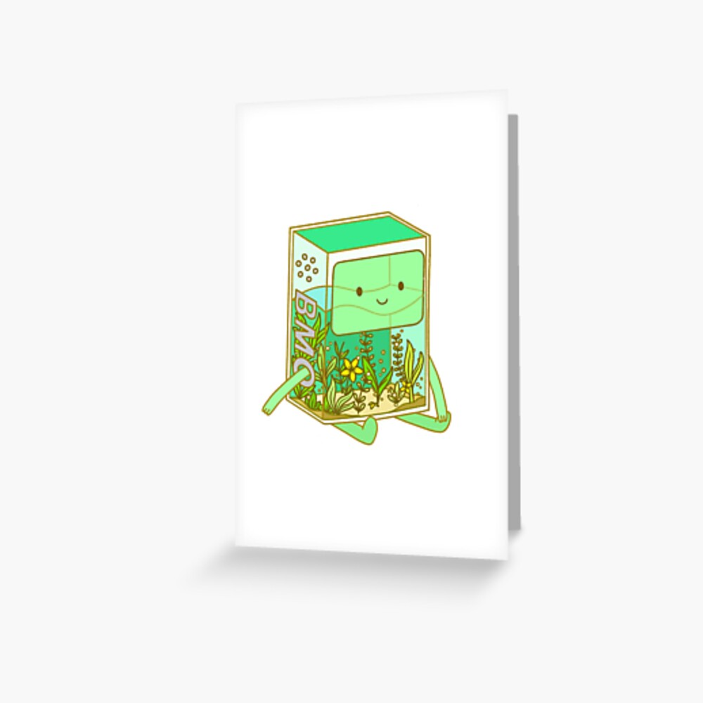 The BMO Aquarium Greeting Card
