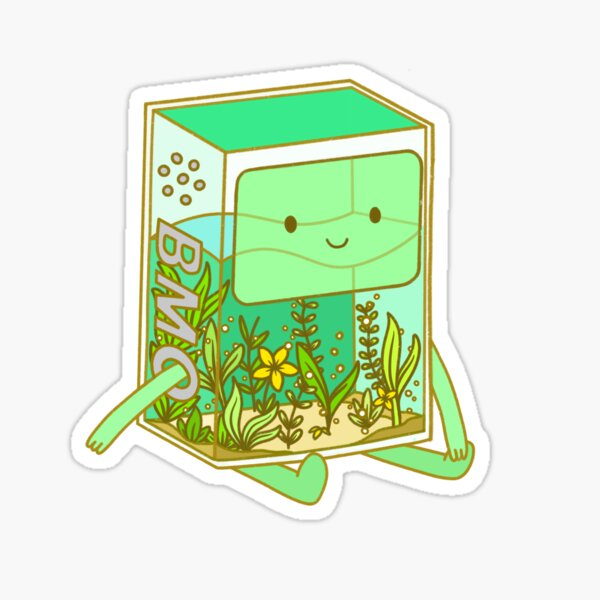 The BMO Aquarium Sticker