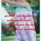 """""""Guide and love all childresn"""" by Norma-jean Morrison"""