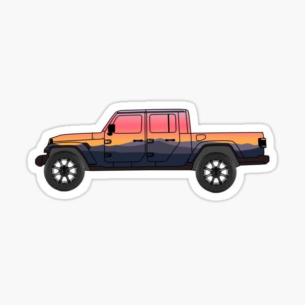 Jeep Gladiador Pegatina