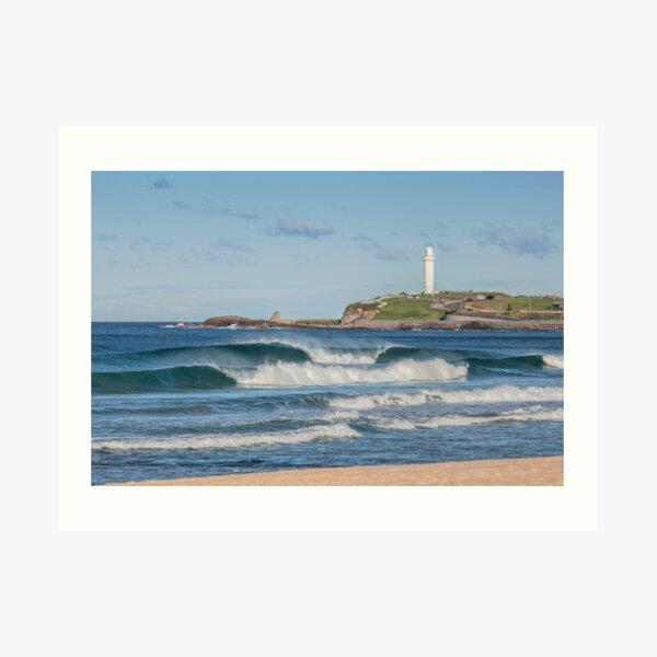 North Wollongong Beach Art Print
