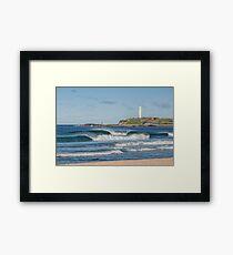 North Wollongong Beach Framed Print