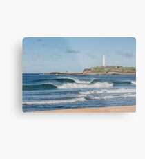 North Wollongong Beach Metal Print