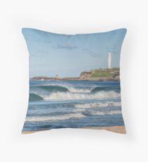 North Wollongong Beach Throw Pillow