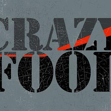 Vintage Look Crazy Fool Van Graphic by VintageSpirit