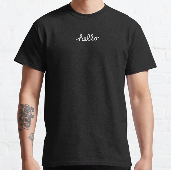 Hola apple Camiseta clásica