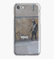 Banksy Himself?? iPhone Case/Skin