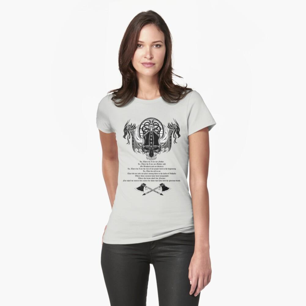 Viking Warrior Womens T-Shirt Front