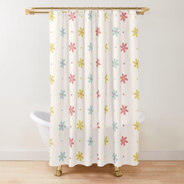 Ditsy Daisy Shower Curtain
