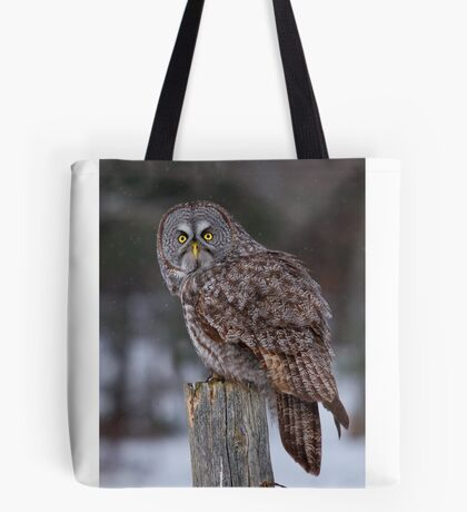 Piss Off! - Great Grey Owl Tote Bag