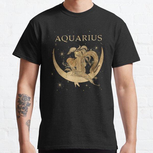 Aquarius zodiac woman Classic T-Shirt