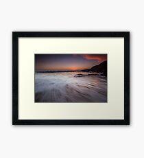 Sunrise - County Wexford Framed Print