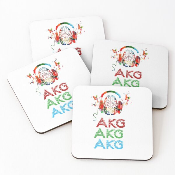 Akg products  Coasters (Set of 4)
