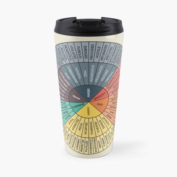 Wheel Of Emotions Travel Mug