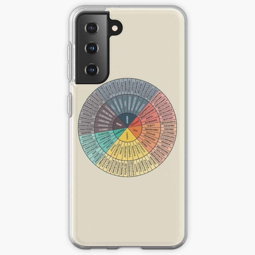 Wheel Of Emotions Case & Skin for Samsung Galaxy