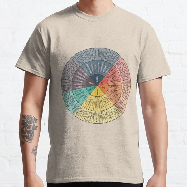 Wheel Of Emotions Classic T-Shirt