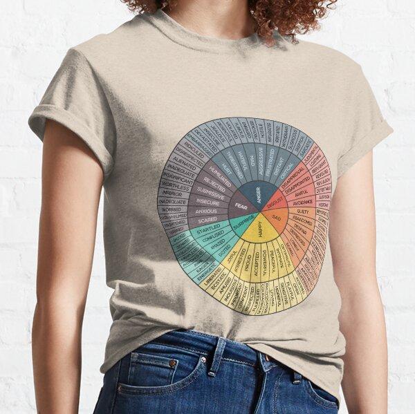 Wheel Of Emotions Classic T-Shirt