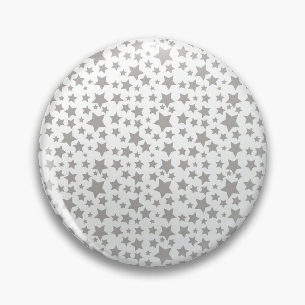 Grey Starry Sky Pin