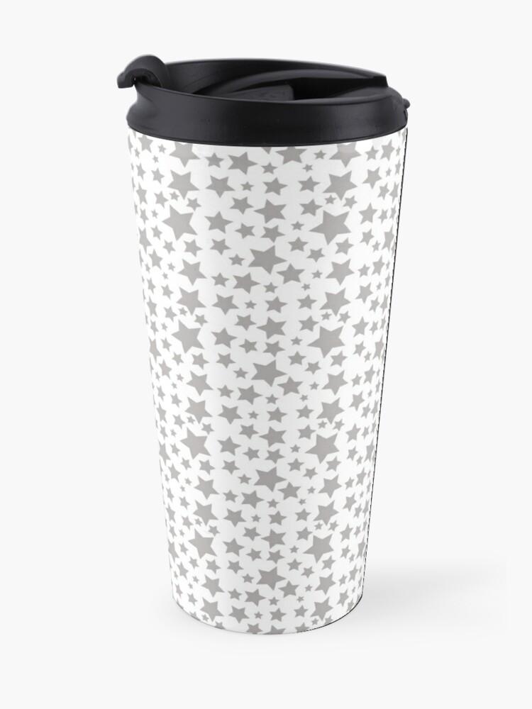 Alternate view of Grey Starry Sky Travel Mug