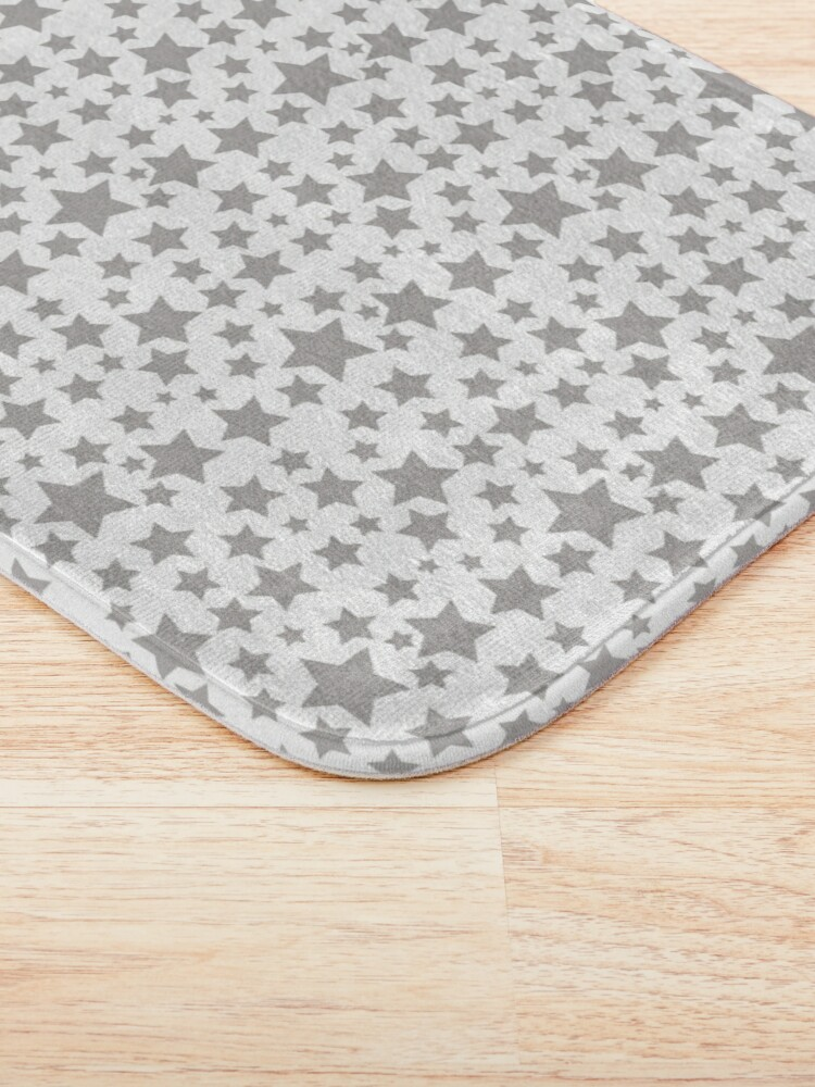 Alternate view of Grey Starry Sky Bath Mat