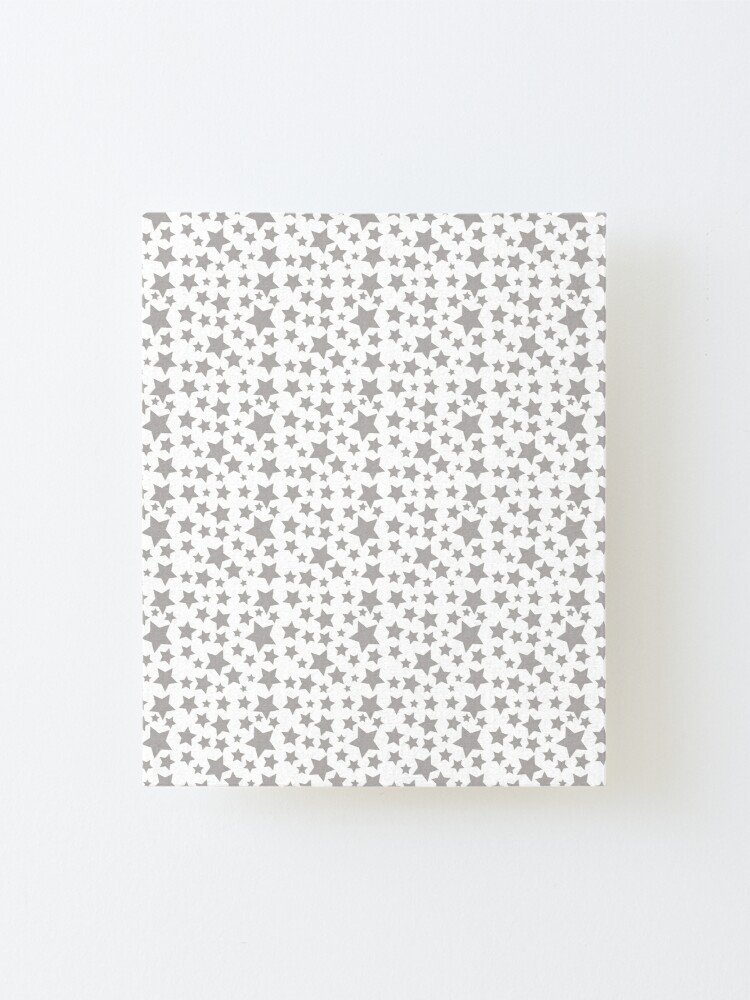 Alternate view of Grey Starry Sky Mounted Print