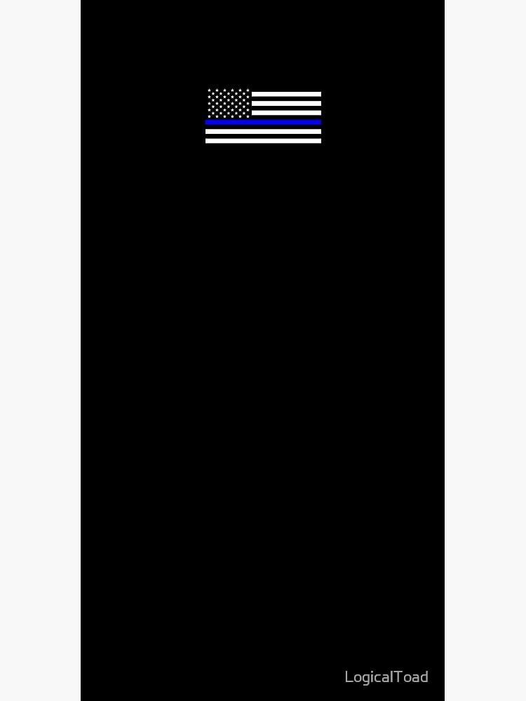 Thin Blue Line Flag by LogicalToad