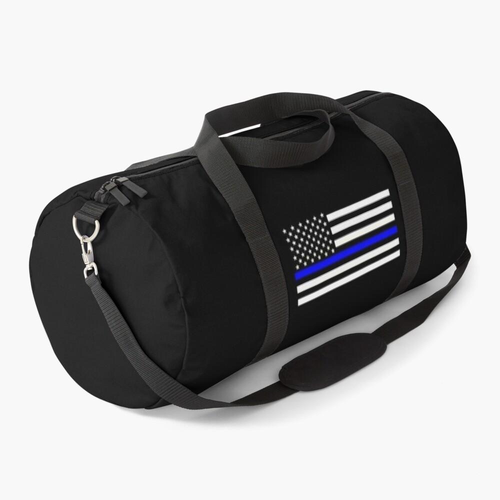 Thin Blue Line Flag Duffle Bag