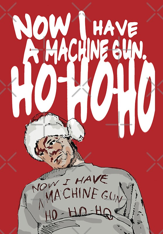 """Die Hard alternative Christmas card"" Greeting Cards by ..."