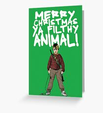 Kevin MacCallister Alternative Christmas Card Greeting Card