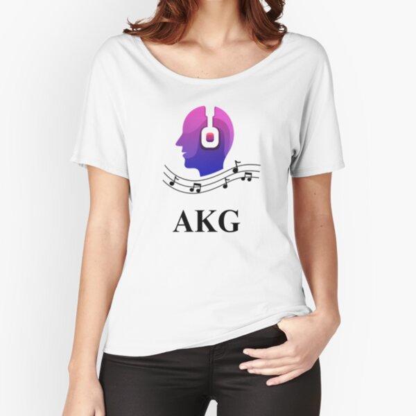 Akg headphones Relaxed Fit T-Shirt