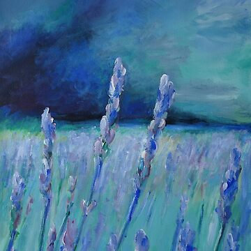Abstract Lavender Field by schiabor