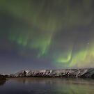dancing over the lake by JorunnSjofn Gudlaugsdottir