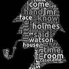 The canon of Sherlock Holmes word cloud by ramiro