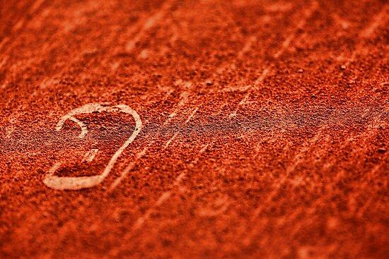 Tennis court by Srdjan Petrovic