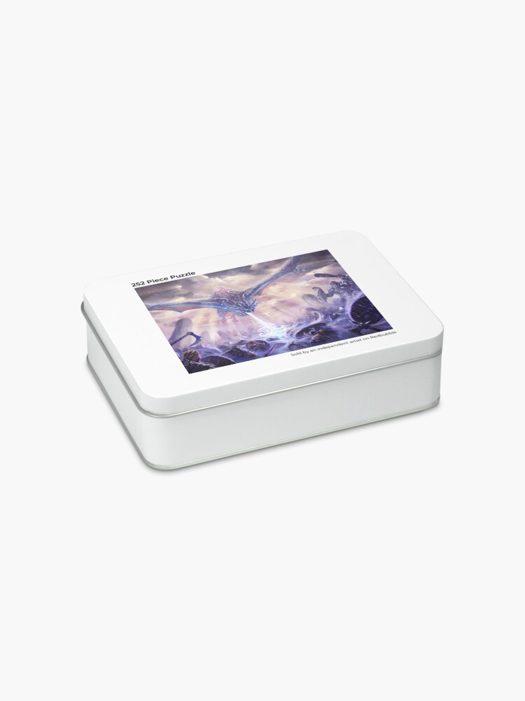 Alternate view of Ice Dragon Jigsaw Puzzle