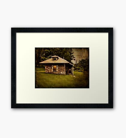 Gilman's Station Framed Print