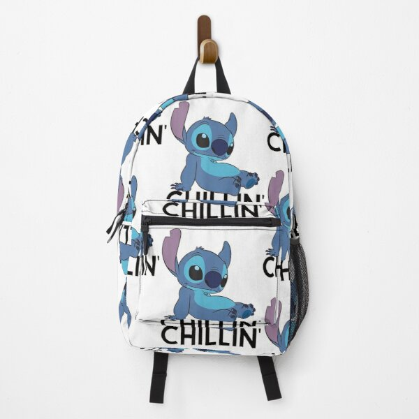 Stitch Chillin Gift For Fans, For Men And Women, Gift Halloween, Thanksgiving, Christmas Day Backpack