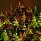 X-mas trees by Marlies Odehnal