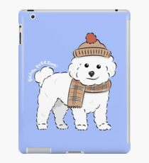 Bichon Freezing! iPad Case/Skin