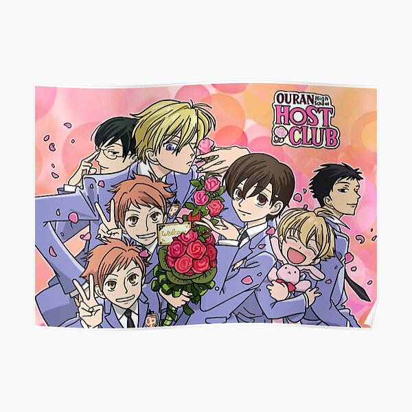 Ouran High School Host Club Poster