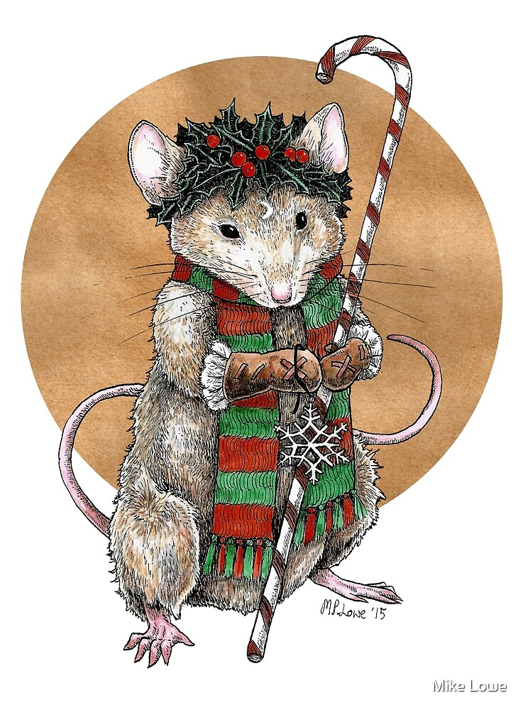 Yuletide Mouse by Mike Lowe