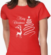 Merry Christmas Women's Fitted T-Shirt